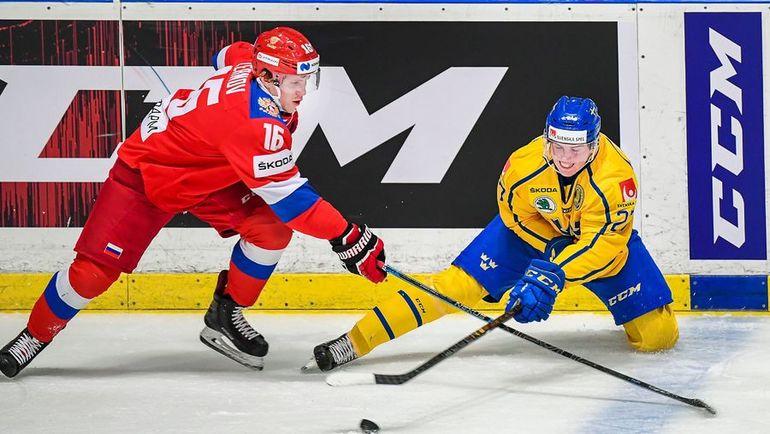9 февраля. Стокгольм. Швеция – Россия – 4:2. Россияне уступили хозяевам Шведских игр. Фото AFP