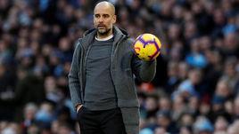 """10 февраля. Манчестер. """"Манчестер Сити"""" - """"Челси"""" - 6:0. Хосеп Гвардьола."""