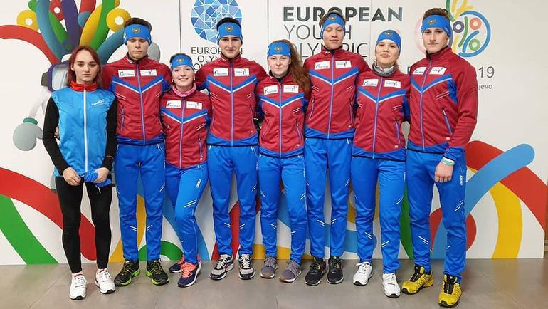 10 февраля. Сараево. Сборная России прибыла на Европейский юношеский зимний олимпийский фестиваль. Фото ОКР