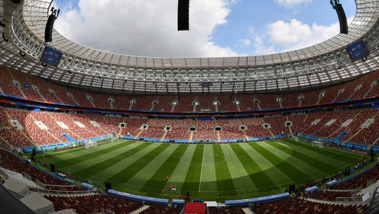 "Стадион ""Лужники"". Фото Александр Федоров, ""СЭ"""