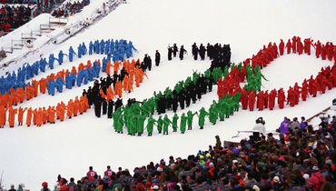 1994 год. Лиллехаммер. Открытие Олимпийских игр.