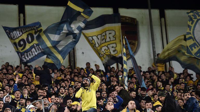 зенит фенербахче: 1:0. Лига Европы, 12 февраля 2019
