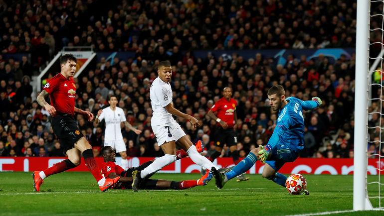 Манчестер юнайтед рома 7 1 полный матч
