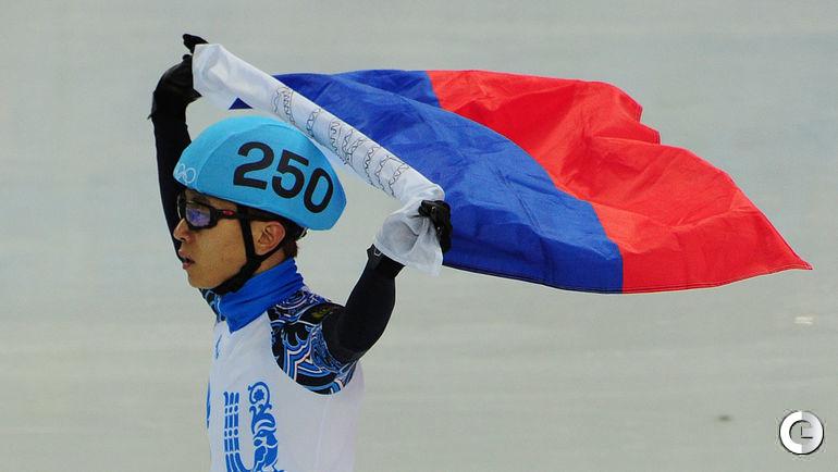 10 февраля 2014 года. Сочи. Виктор Ан завоевал бронзу на олимпийской дистанции 1500 метров.