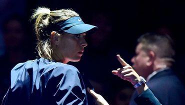 Мария Шарапова: вне игры. Фото AFP