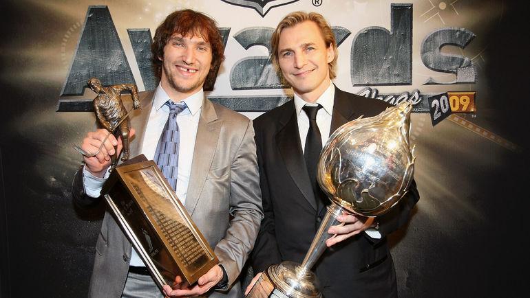Александр Овечкин и Сергей Федоров. Фото AFP