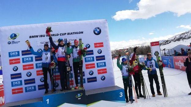 Норвежец Ветле Кристиансен стал победителем спринта в Солт-Лейк-Сити. Фото Твиттер IBU