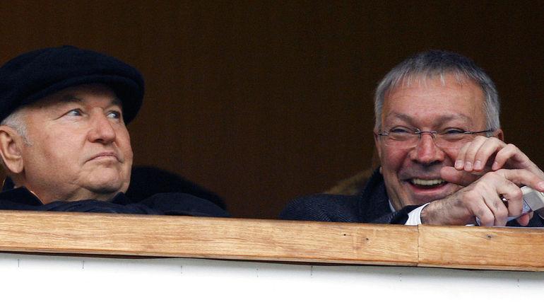 Юрий Лужков и Юрий Белоус. Фото Александр Федоров, «СЭ»