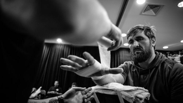 Виталий Минаков перед боем с Чейком Конго. Фото Bellator