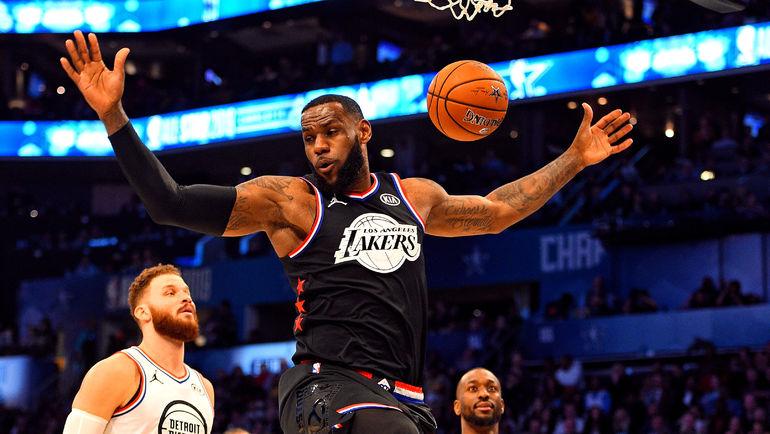 17 февраля. Шарлотт. Леброн Джеймс в Матче звезд НБА. Фото USA Today