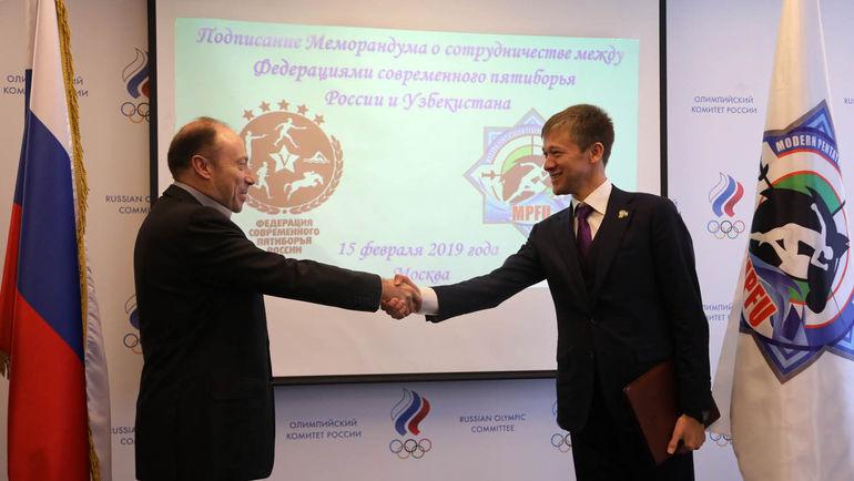 Вячеслав Аминов и Бахромжон Газиев.