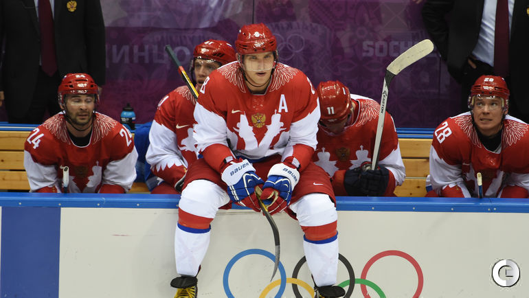 19 февраля 2014 года. Сочи. Финляндия - Россия - 3:1. Александр Овечкин после вылета из олимпийского турнира.