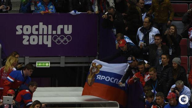 19 февраля 2014 года. Сочи. Финляндия - Россия - 3:1. Сборная России покидает Олимпиаду. Фото Александр Федоров,