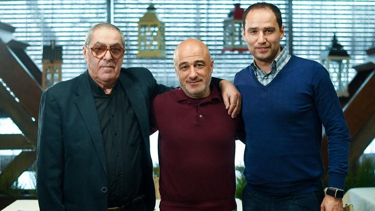 Александр Львов, Арсен Минасов и Роман Широков. Фото Дарья Исаева, «СЭ»