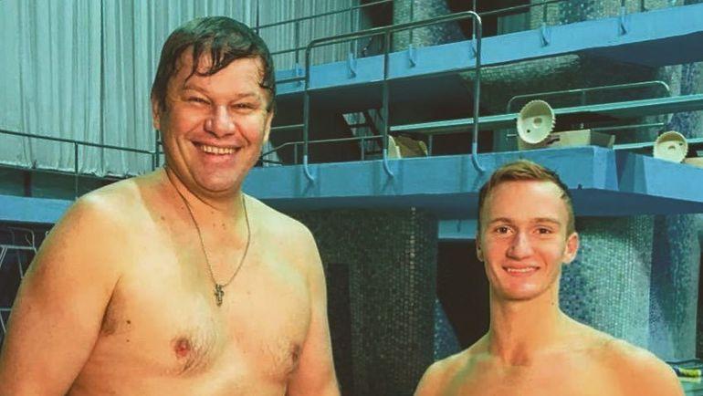 Александр Мальцев и Дмитрий Губерниев. Фото instagram.com/a.maltsev_synchro/