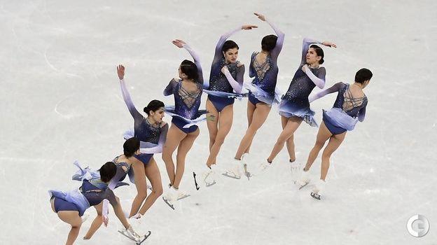21 февраля 2018 года. Пхенчхан. Евгения Медведева. Фото AFP