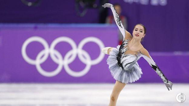 21 февраля 2018 года. Пхенчхан. Алина Загитова. Фото REUTERS