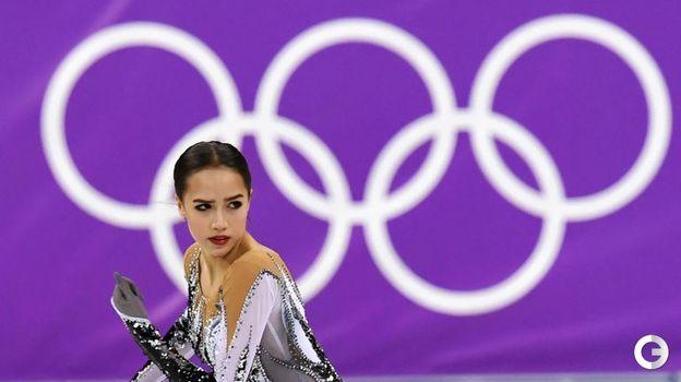 21 февраля 2018 года. Пхенчхан. Алина Загитова. Фото AFP