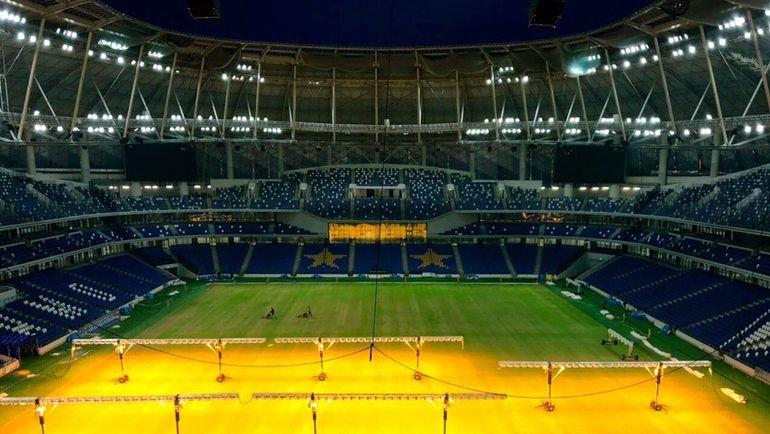 """Поле стадиона """"Динамо""""."""