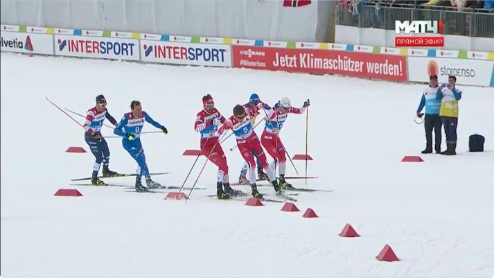 Йоханнес Клебо не пустил вперед Сергея Устюгова.