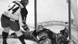 20 февраля 2002 года. Солт-Лейк-Сити. Россия - США - 2:3. Сергей Самсонов против Майка Рихтера.