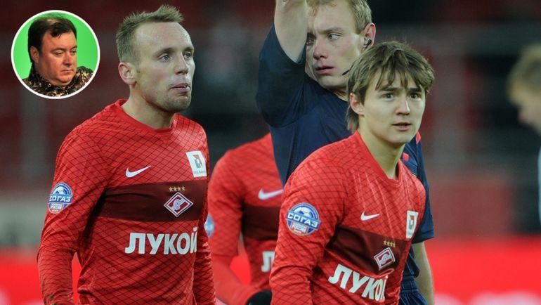 Алексей Сафонов, Денис Глушаков и Денис Давыдов. Фото Алексей Иванов