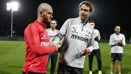 Аяз Гулиев и Олег Кононов.
