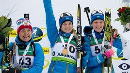 Екатерина Юрлова-Перхт (слева), Мона Брорссон (в центре) и Ханна Эберг.