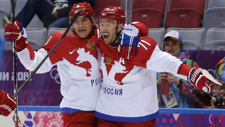 Илья Ковальчук и Александр Овечкин. Фото REUTERS