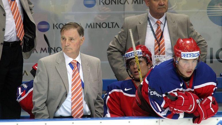 Виктор Тихонов и Илья Ковальчук. Фото Владимир Беззубов, photo.khl.ru