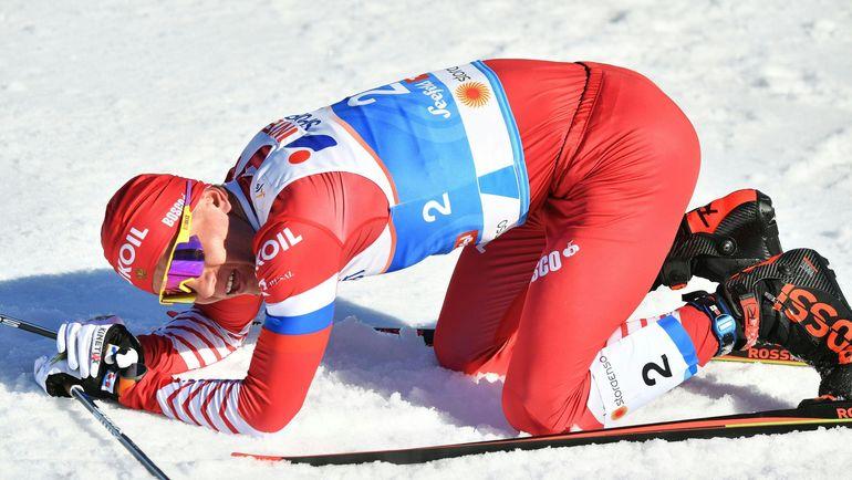 23 февраля. Зефельд. Александр Большунов. Фото AFP