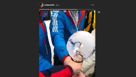 Никитина показала Большой хрустальный глобус