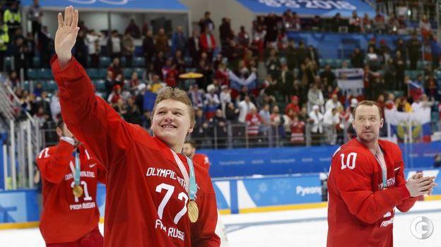 25 февраля 2018 года. Пхенчхан. Россия - Германия - 4:3 ОТ. Фото REUTERS