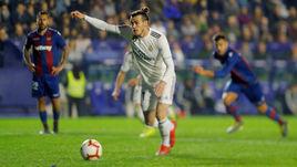 "24 февраля. Валенсия. ""Леванте"" - ""Реал"" - 1:2. Пенальти в исполнении Гарета Бэйла."