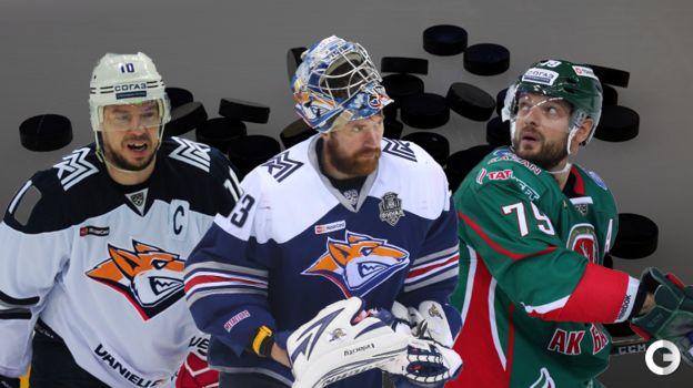 Сергей Мозякин, Василий Кошечкин и Андрей Марков. Фото