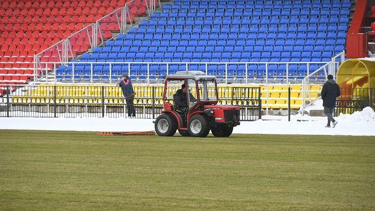 """Вид на поле стадиона """"Арсенал"""". Фото tula.kp.ru"""