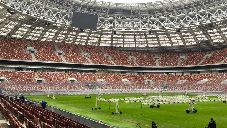 """Стадион """"Лужники"""" прямо сейчас. Фото """"СЭ"""""""