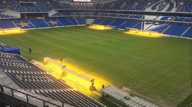 """Стадион """"Динамо"""": будет ли поле готово к 10 марта? Фото instagram.com/vtb_arena_park/"""