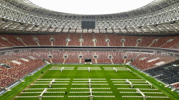 """Стадион """"Лужники"""": вид главной арены страны 25 февраля. Фото «СЭ»"""