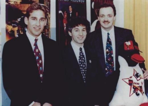 Рид Ноппонен, Стивен Уоршоу и Виктор Гусев (слева направо).