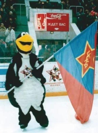 """Маскот """"Русских пингвинов""""."""