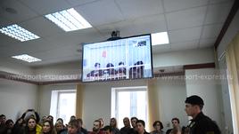 26 февраля. Москва. Заседание суда.
