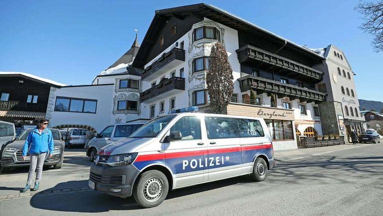 Австрийская полиция провела обыски в отелях, где живут команды на чемпионате мира. Фото AFP