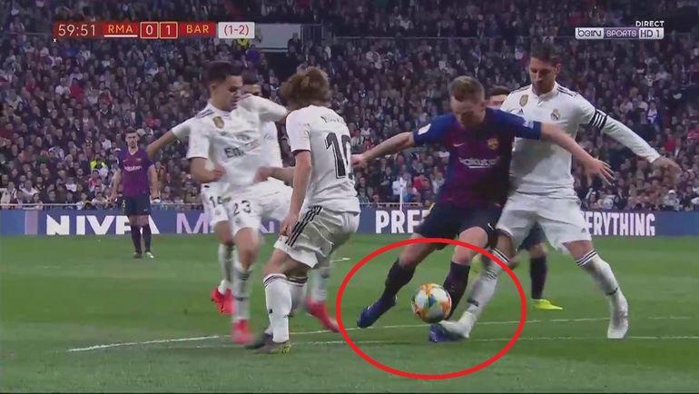 """Пенальти в ворота """"Реала""""."""