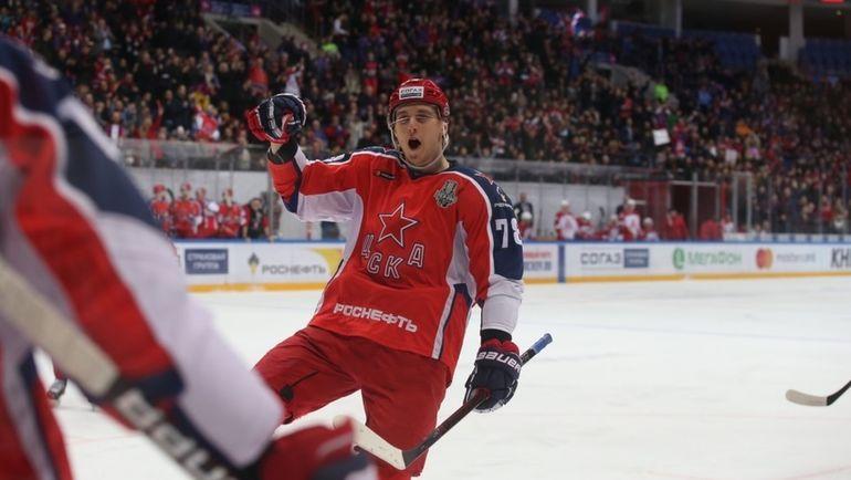 ЦСКА победил во втором матче первого раунда Кубка Гагарина Витязь – 6:2 и ведет в серии 2-0