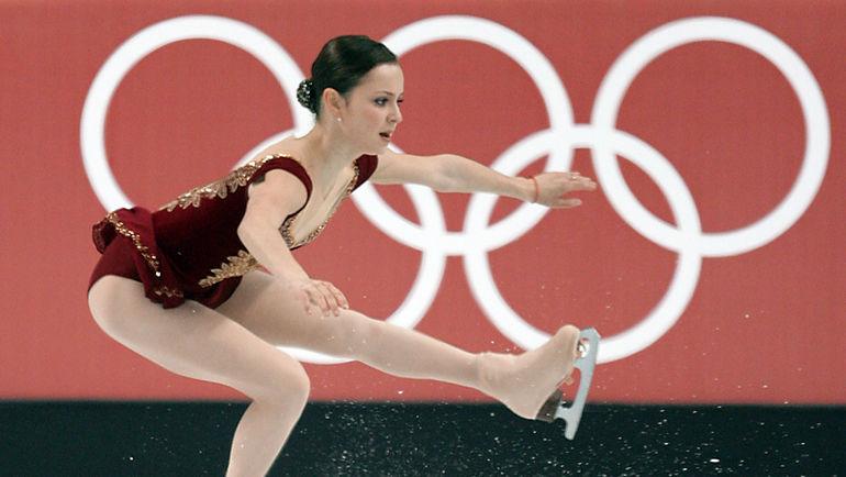 2006 год. Саша Коэн на Олимпиаде в Турине. Фото AFP
