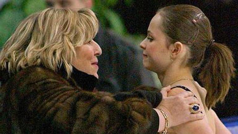 2002 год. Татьяна Тарасова и Саша Коэн.