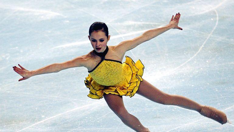 2003 год. Саша Коэн. Фото REUTERS