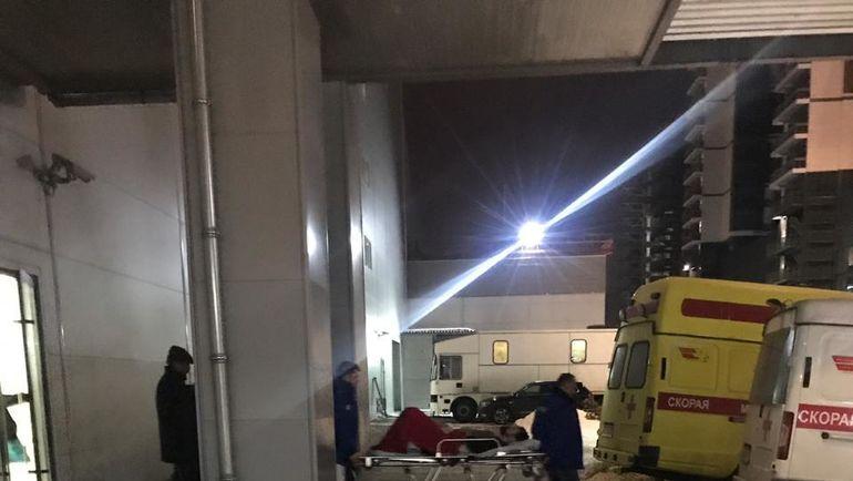 """Нападающий """"Спартака"""" Каспар Даугавиньш попал в больницу с пробитым легким во время матча со СКА."""