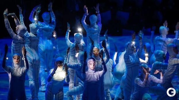 2 марта. Красноярск. Церемония открытия Всемирной зимней Универсиады. Фото AFP